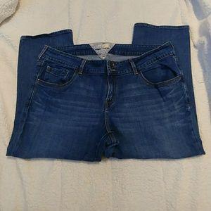 Levi's Capri jeans 18